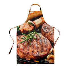 Фартук кулинарный Мясо 4 цвета 3D — фото 1