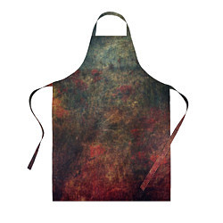 Фартук кулинарный Металлические краски цвета 3D — фото 1