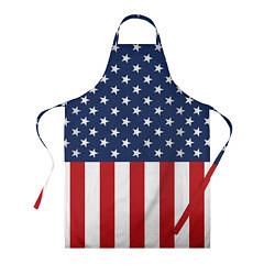 Фартук кулинарный Флаг США цвета 3D — фото 1