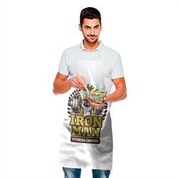 Фартук кулинарный Iron man цвета 3D — фото 2