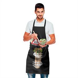 Фартук кулинарный Шаурма цвета 3D — фото 2