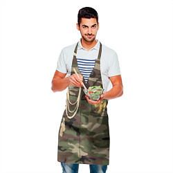 Фартук кулинарный Униформа дембеля цвета 3D — фото 2