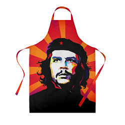 Фартук кулинарный Че Гевара цвета 3D — фото 1