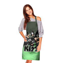 Фартук кулинарный Kiss цвета 3D-принт — фото 2