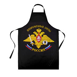 Фартук ВС России: вышивка