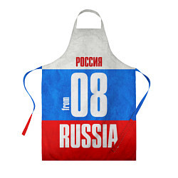 Фартук кулинарный Russia: from 08 цвета 3D — фото 1