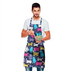 Фартук кулинарный Котятки цвета 3D — фото 2