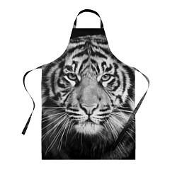 Фартук кулинарный Красавец тигр цвета 3D — фото 1