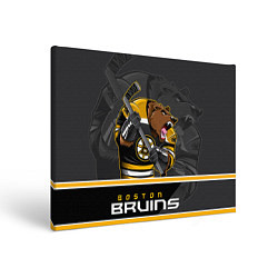 Холст прямоугольный Boston Bruins цвета 3D — фото 1