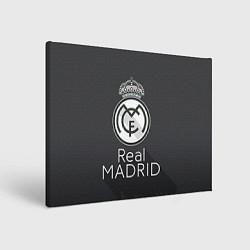 Холст прямоугольный Real Madrid цвета 3D-принт — фото 1
