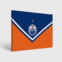 Холст прямоугольный NHL: Edmonton Oilers цвета 3D — фото 1