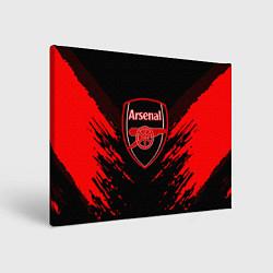 Холст прямоугольный Arsenal FC: Sport Fashion цвета 3D — фото 1