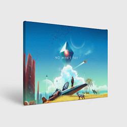 Холст прямоугольный No Man's Sky: Atlas Rises цвета 3D — фото 1