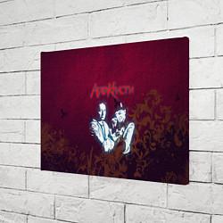 Холст прямоугольный Агата Кристи цвета 3D — фото 2