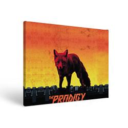 Холст прямоугольный The Prodigy: Red Fox цвета 3D-принт — фото 1
