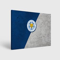 Холст прямоугольный Leicester City FC цвета 3D — фото 1