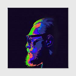 Холст квадратный McGregor Neon цвета 3D-принт — фото 2