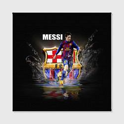 Холст квадратный Messi FCB цвета 3D-принт — фото 2