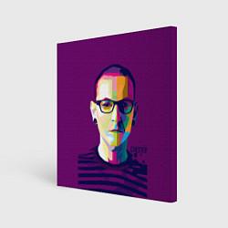 Холст квадратный Честер Беннингтон цвета 3D — фото 1
