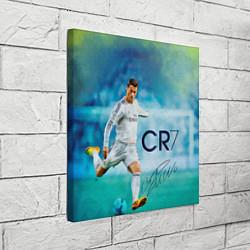 Холст квадратный CR Ronaldo цвета 3D — фото 2