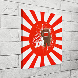 Холст квадратный Domo jdm цвета 3D — фото 2