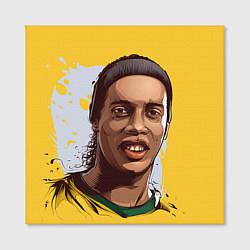 Холст квадратный Ronaldinho Art цвета 3D-принт — фото 2