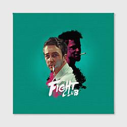 Холст квадратный Fight Club Stories цвета 3D — фото 2