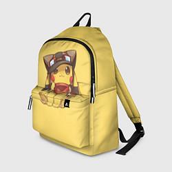 Рюкзак Pikachu цвета 3D — фото 1