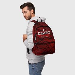 Рюкзак Cs:go - Crimson Web Style Factory New Кровавая пау цвета 3D — фото 2