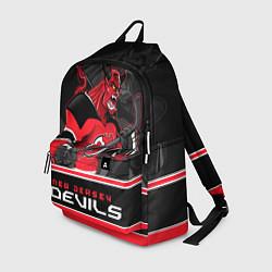 Рюкзак New Jersey Devils цвета 3D-принт — фото 1