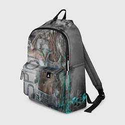 Рюкзак Фитоняшка цвета 3D-принт — фото 1