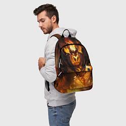 Рюкзак Nevermore Hell цвета 3D — фото 2
