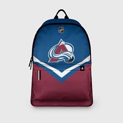 Рюкзак NHL: Colorado Avalanche цвета 3D-принт — фото 2