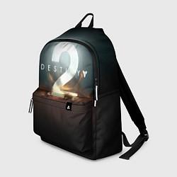 Рюкзак Destiny 2 цвета 3D-принт — фото 1