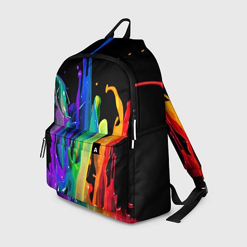 Рюкзак Всплеск красок / 3D – фото 1