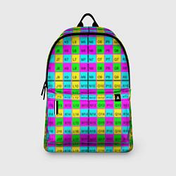 Рюкзак Тестовый яркий цвета 3D-принт — фото 2