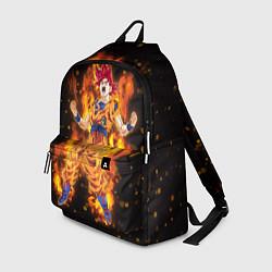 Рюкзак Fire Goku цвета 3D — фото 1