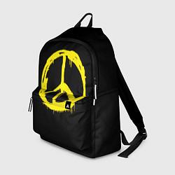Рюкзак Peace цвета 3D-принт — фото 1