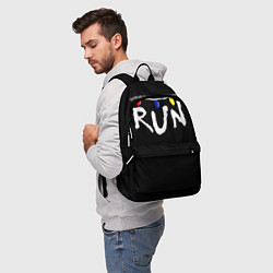 Рюкзак Stranger Things RUN цвета 3D-принт — фото 2