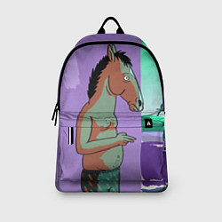 Рюкзак BoJack цвета 3D-принт — фото 2
