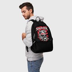 Рюкзак Stigmata Skull цвета 3D-принт — фото 2