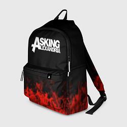 Рюкзак Asking Alexandria: Flame цвета 3D-принт — фото 1