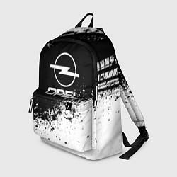 Рюкзак Opel: Black Spray цвета 3D — фото 1
