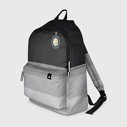 Рюкзак ФК Интер: Серый стиль цвета 3D-принт — фото 1