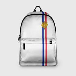 Рюкзак Франция: лента с гербом цвета 3D — фото 2