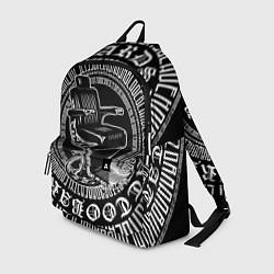 Рюкзак Настоящий барбер цвета 3D-принт — фото 1