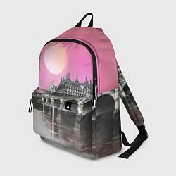 Рюкзак Закат в Великобритании цвета 3D-принт — фото 1