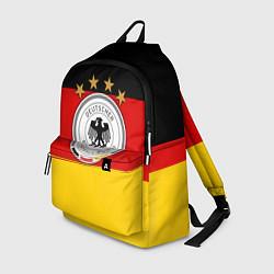 Рюкзак Немецкий футбол цвета 3D-принт — фото 1
