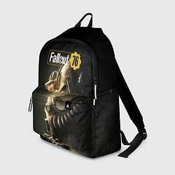 Рюкзак FALLOUT 76 цвета 3D-принт — фото 1