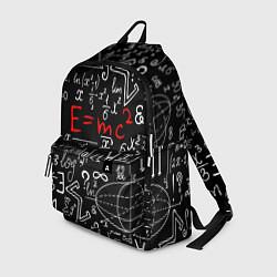 Рюкзак Формулы физики цвета 3D — фото 1